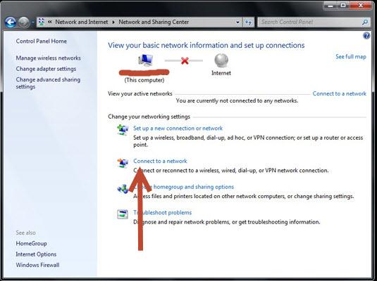ingen netværksforbindelse windows 10