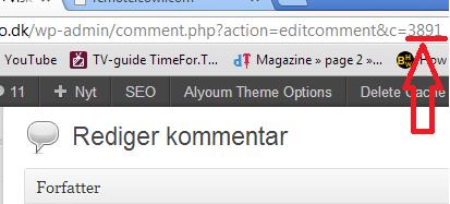 Wordpress kommentar id