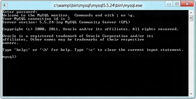 MySQL-console-from-cmd-prompt