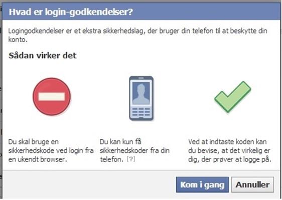Sikker Facebook profil
