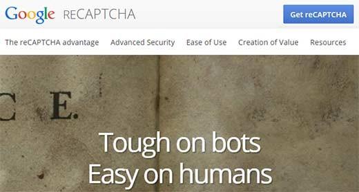 get captcha