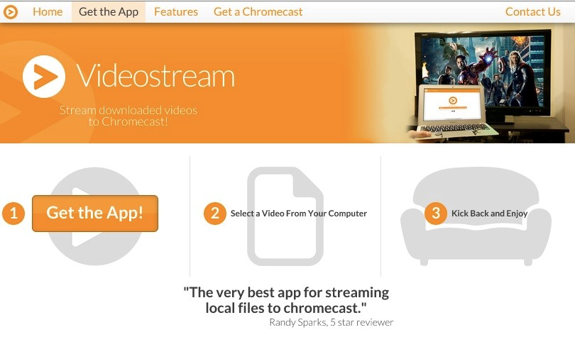 Videostream for Chromecast